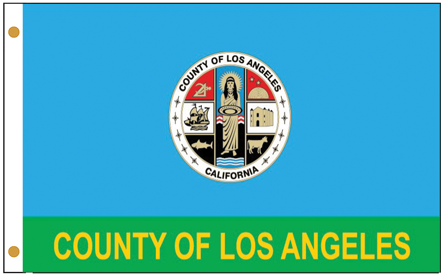 County of Los Angeles Flags