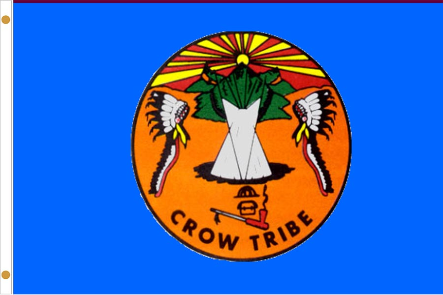 Crow Tribe Flags