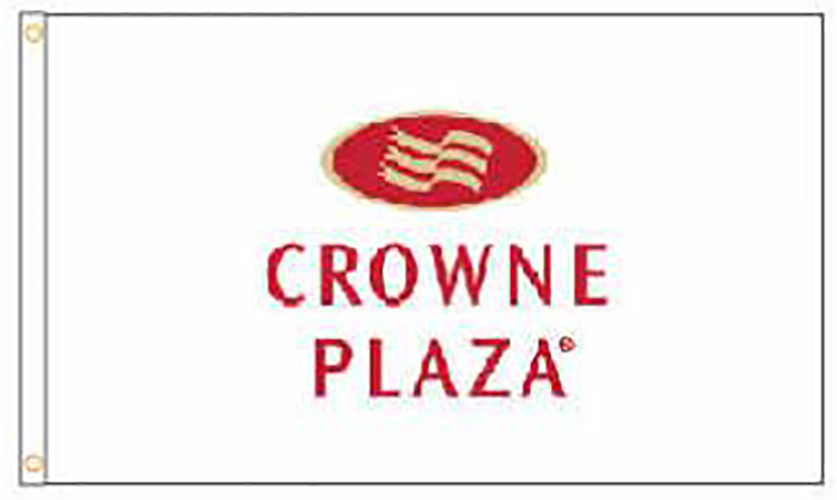 Crowne Plaza Hotel Flags