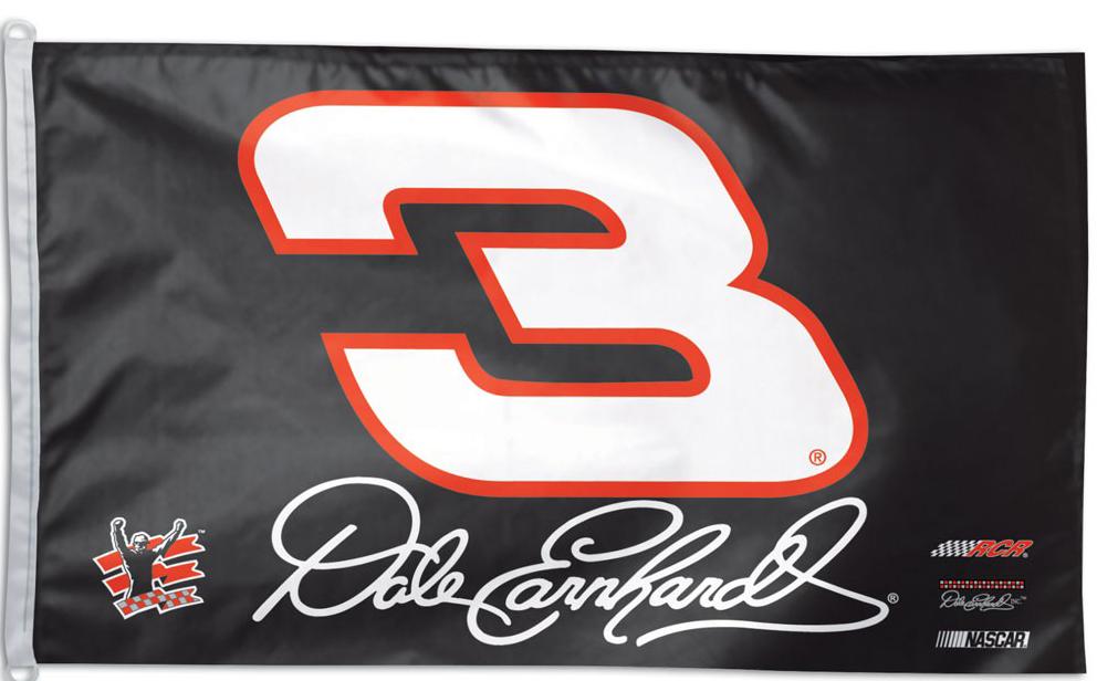 Dale Earnhardt NASCAR Flag