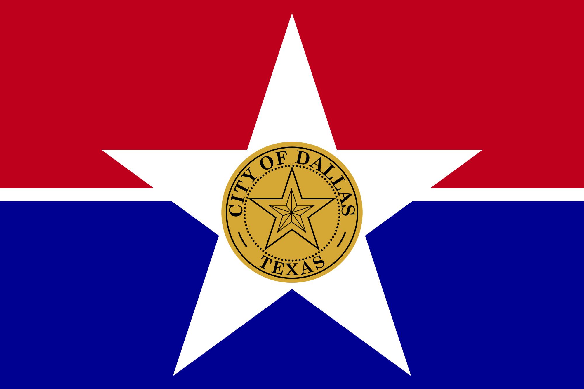Dallas City Flags