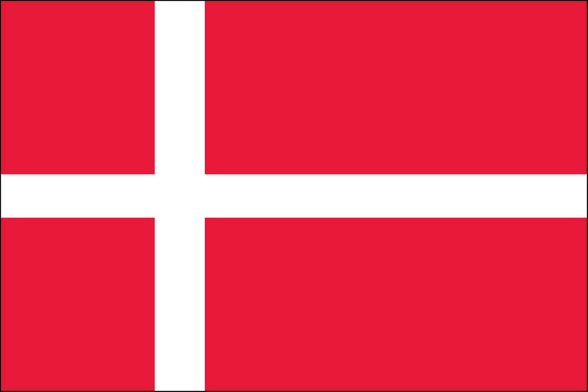 Denmark Official Government Flags