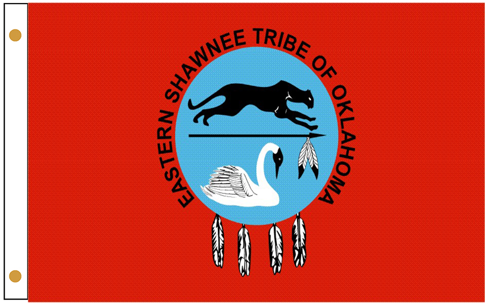 Eastern Shawnee Tribe Flags