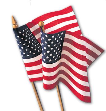 Economy Mounted Flags