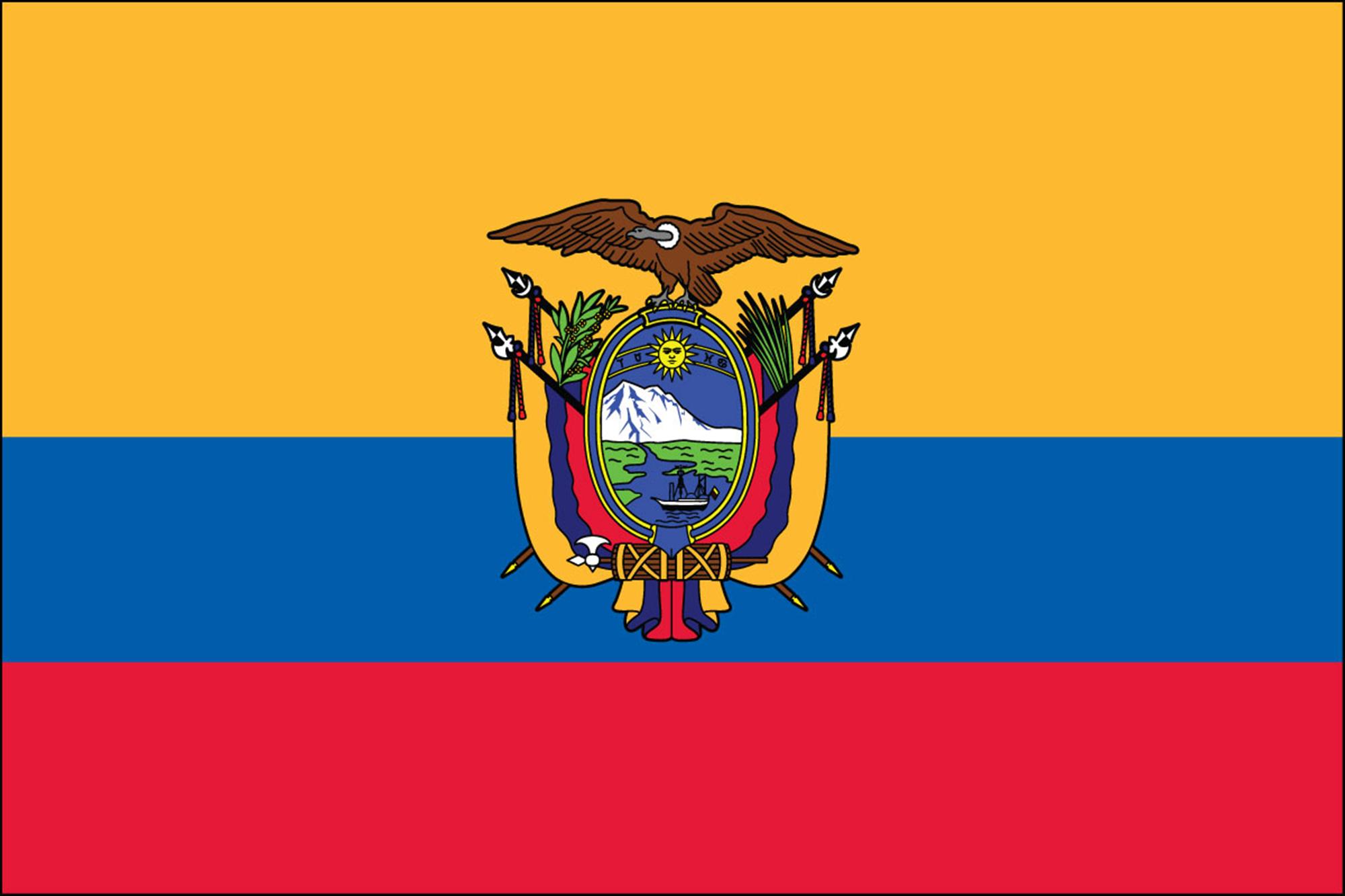 Ecuador Official Government Flags
