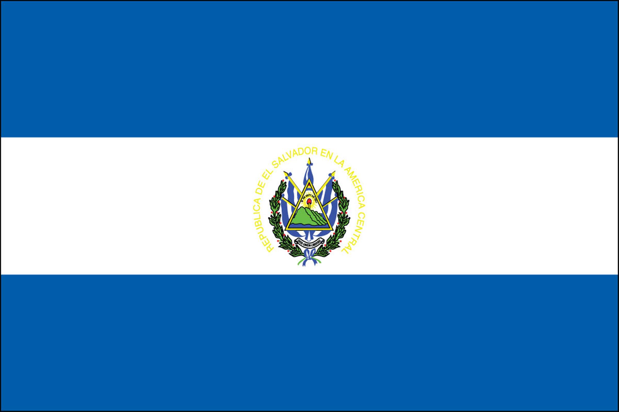 El Salvador Flags