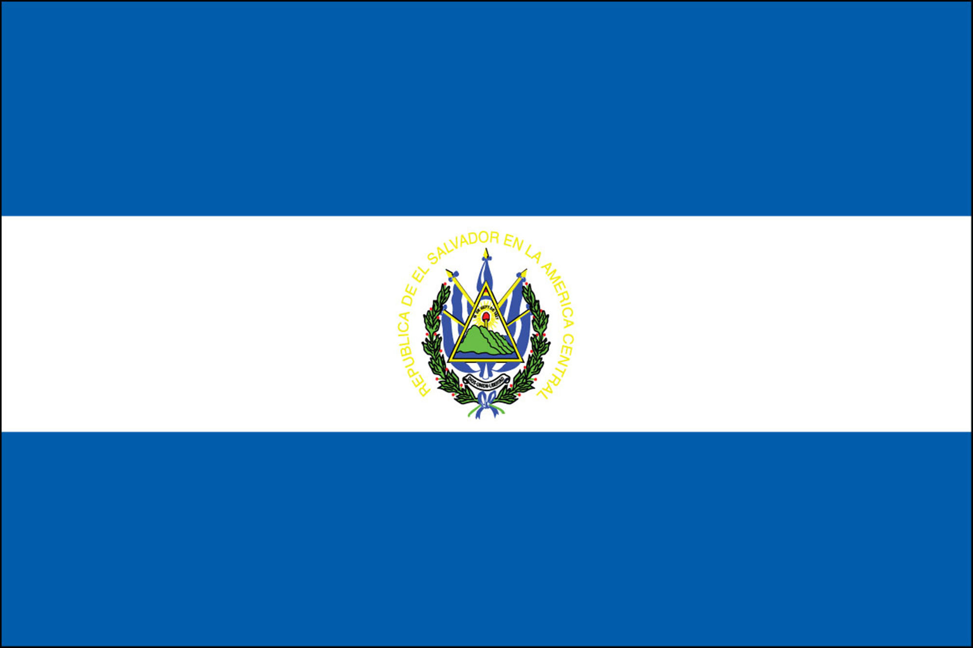 El Salvador Flags
