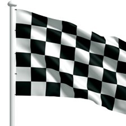 End of Race Flags
