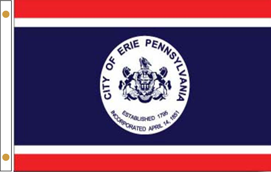 Erie Pennsylvania Flags