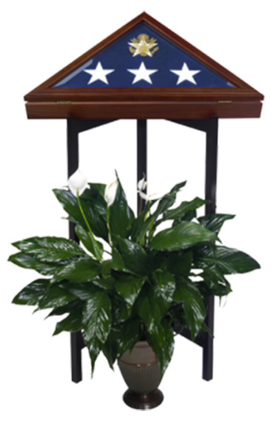 Flag Case Stand