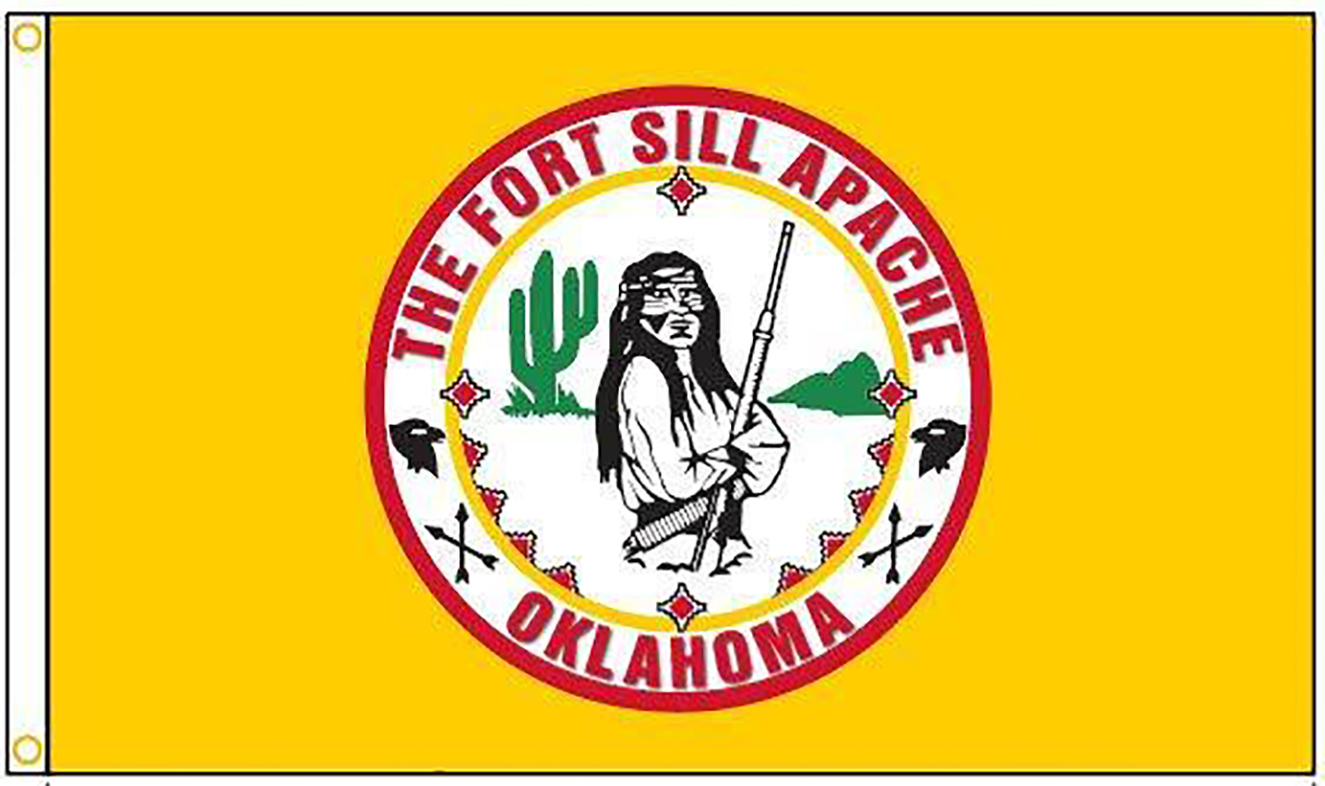 Fort Sill Apache Tribe Flags