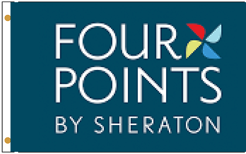 Four Points Hotel Flags