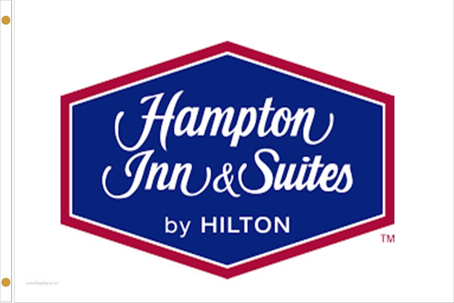 Hampton Inn & Suites Hotel Flags