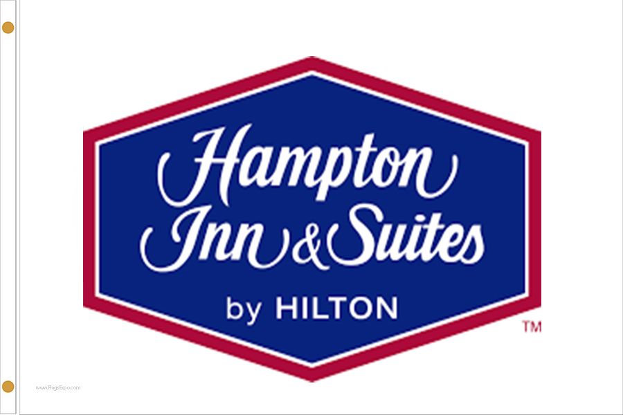 Hampton Inn & Suites Hotel Flags