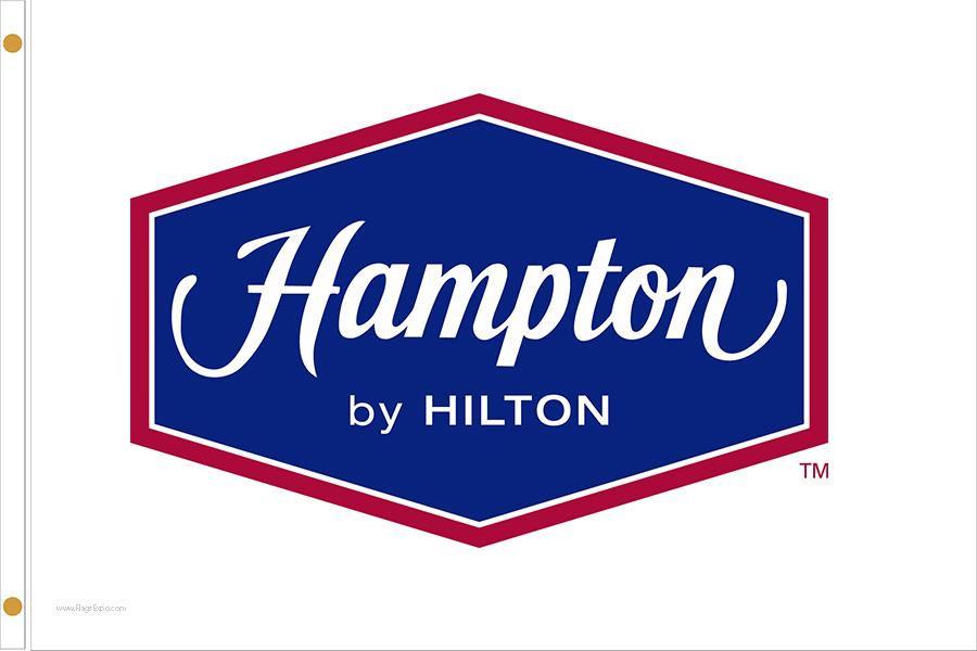 Hampton by Hilton Hotel Flags