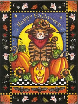 Happy Halloween Cat