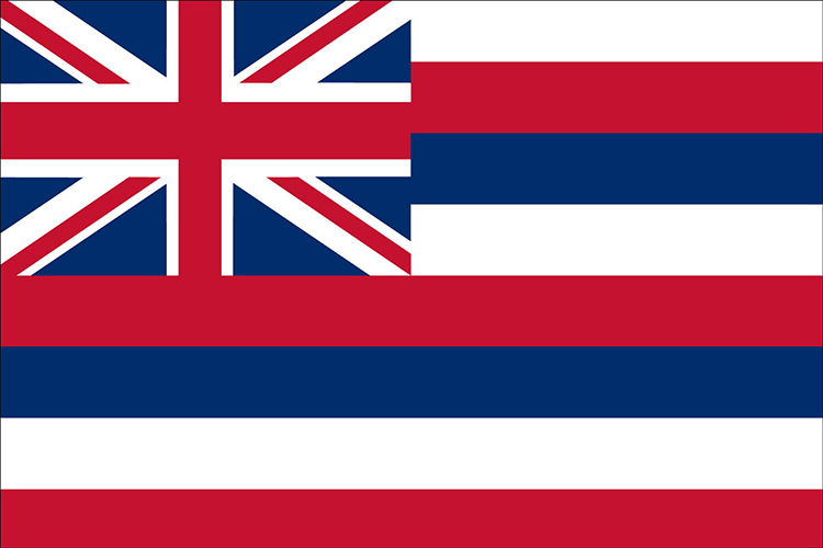Hawaii State Flags