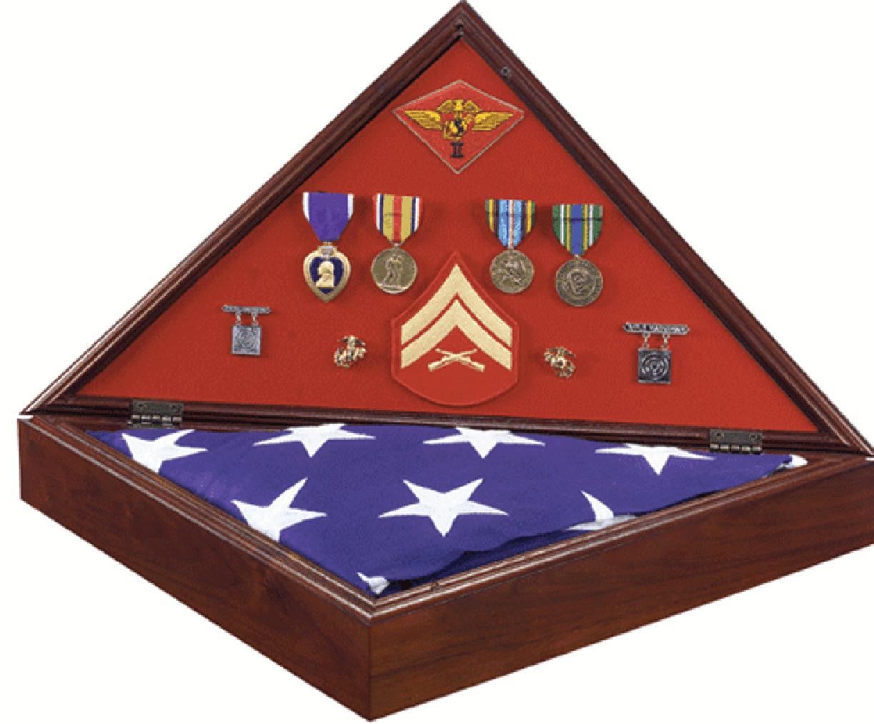 Heritage Flag Display Case