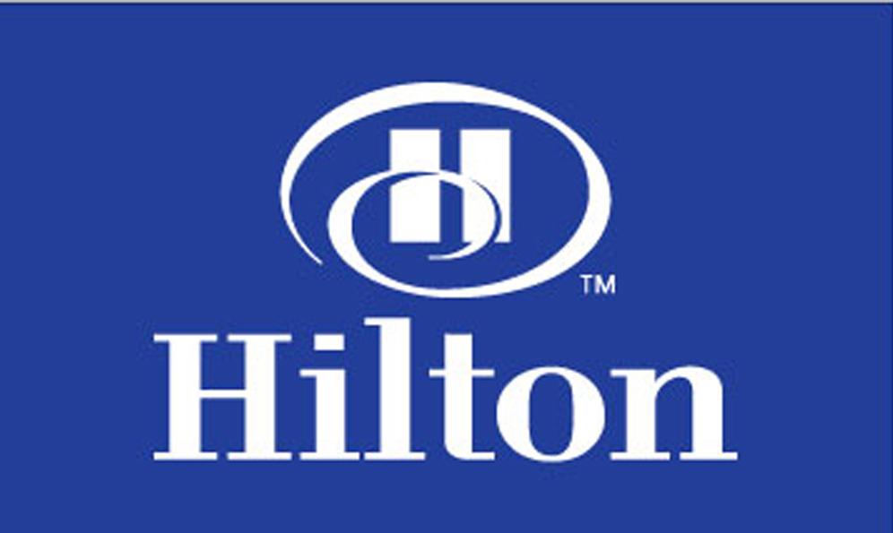 Hilton Hotel Flags
