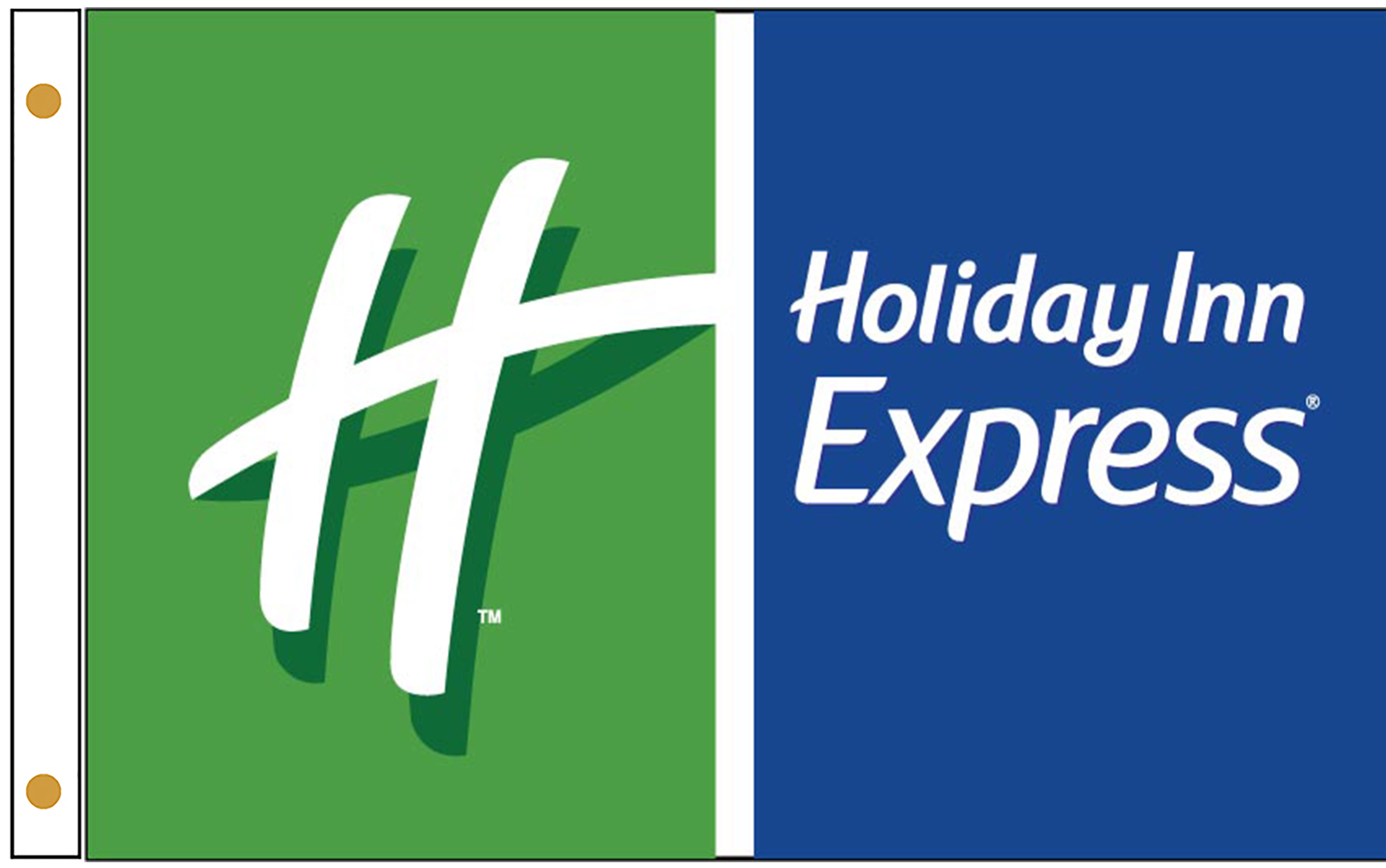 Holiday Inn Express Hotel Flags