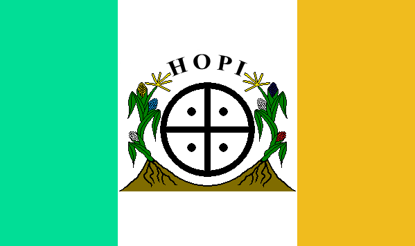 Hopi Tribe Flags