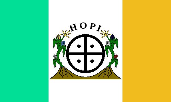 Hopi Tribe Flags