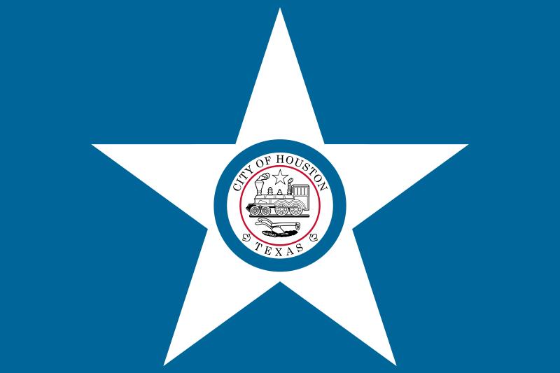 Houston Texas Flags