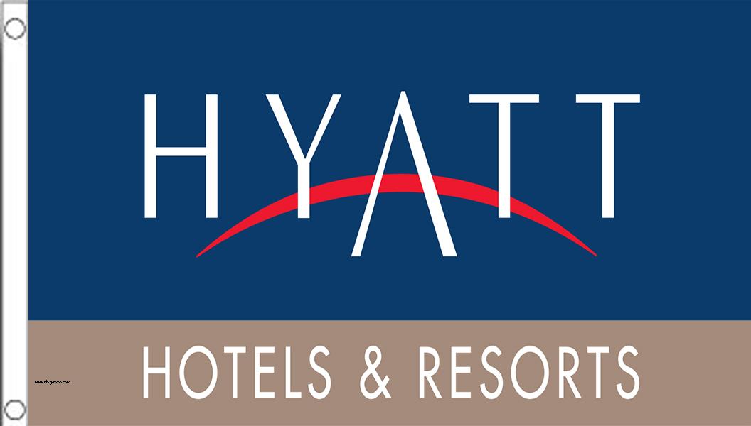Hyatt Hotel Flags