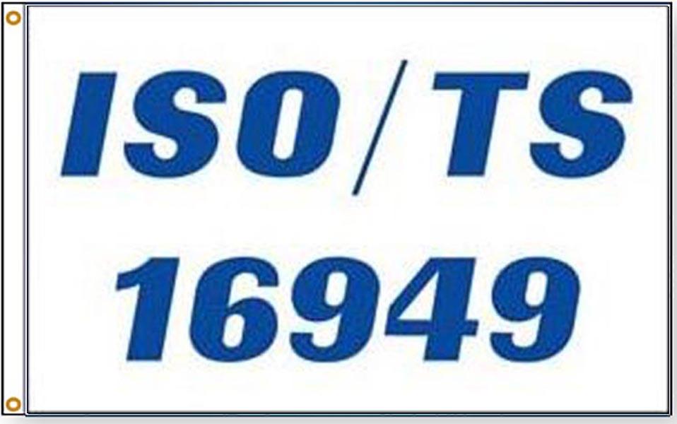 ISO TS 16949 Flags