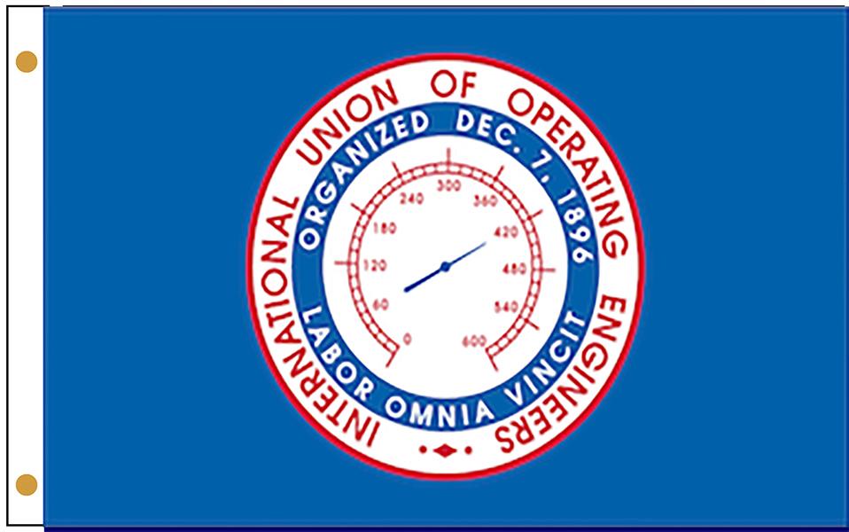 International Union of Operating Engineers Flags
