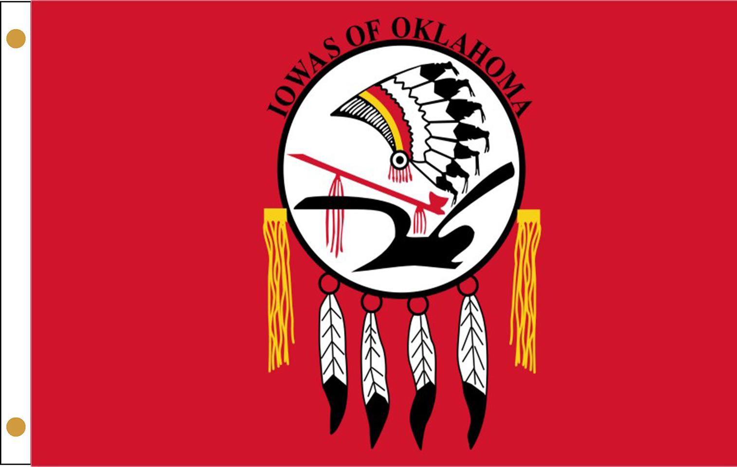 Iowa Tribe of Oklahoma Flags