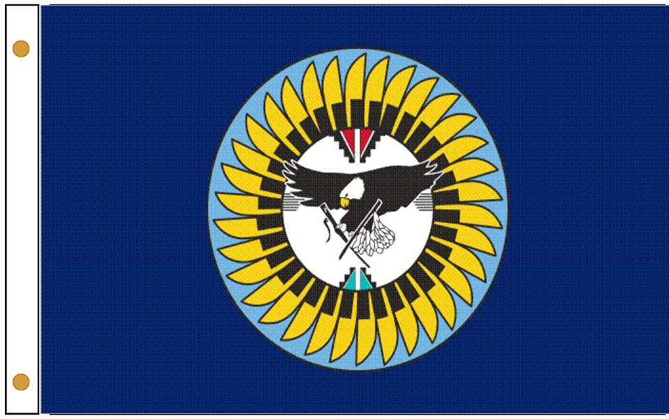 Isleta Pueblo Tribe Flags
