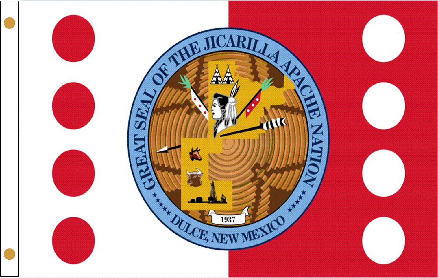 Jicarilla Apache Tribe Flags