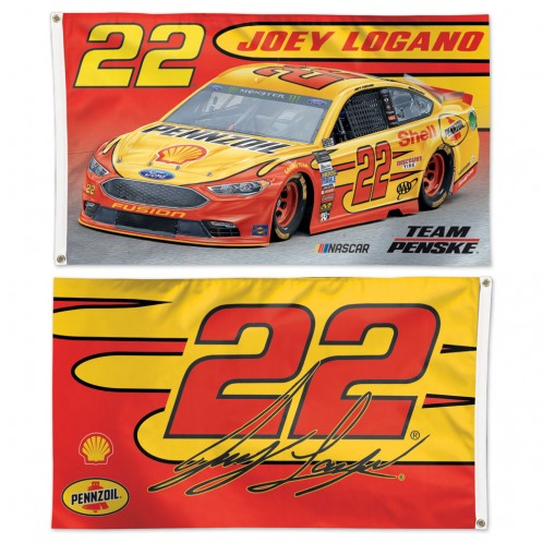 Joey Logano NASCAR Flags