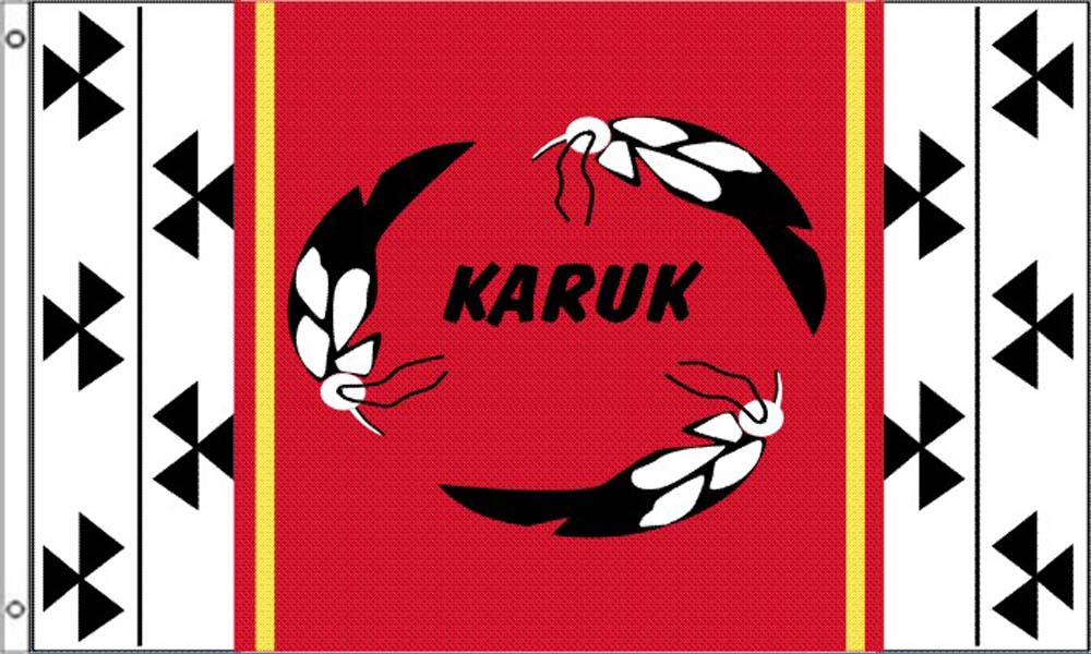 Karuk Tribe Flags
