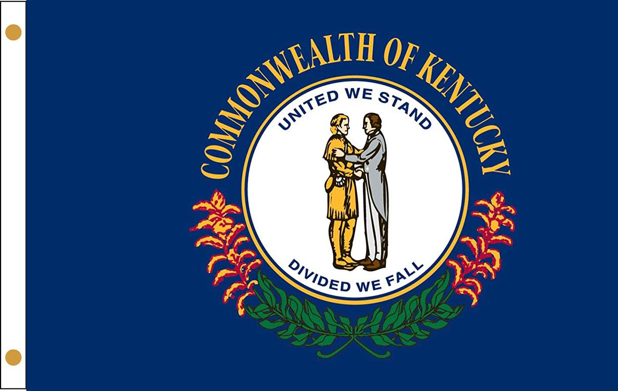 Kentucky State Flags