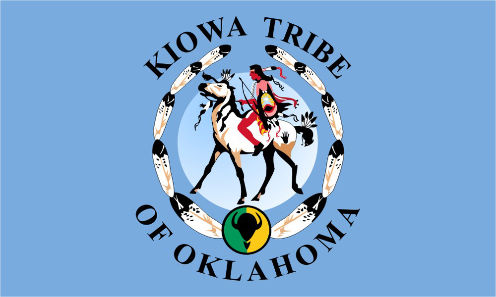 Kiowa Tribe Flags