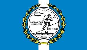 Korean War Veterans Flags