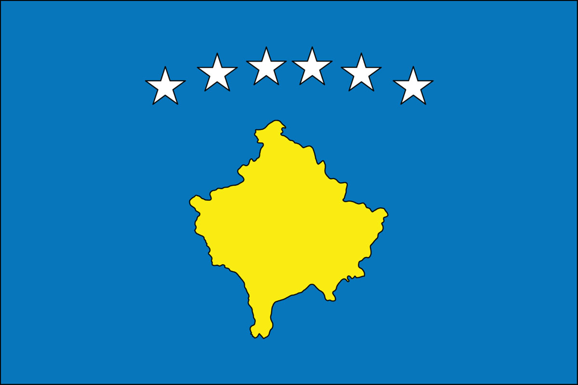 Kosovo Flags