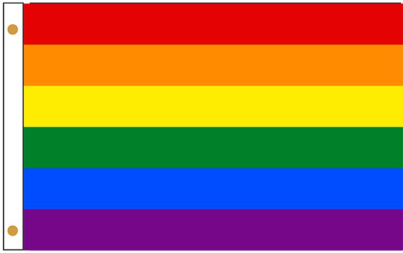 LGBT Rainbow Outdoor Flags