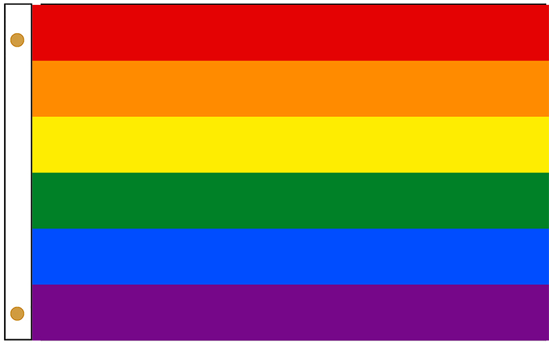 LGBT Rainbow Outdoor Flags