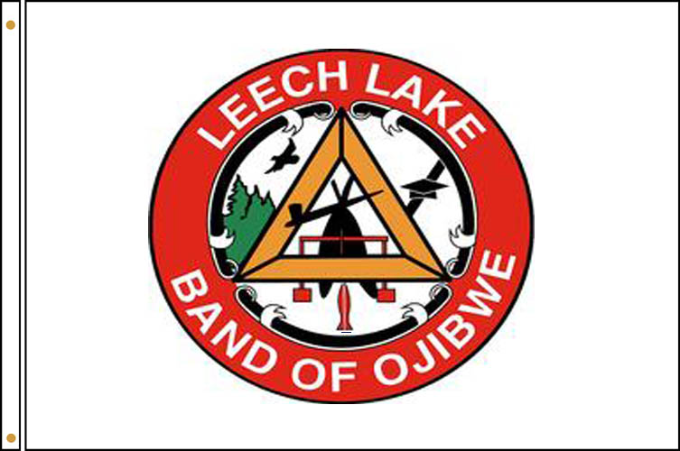 Leech Lake Tirbe Flags