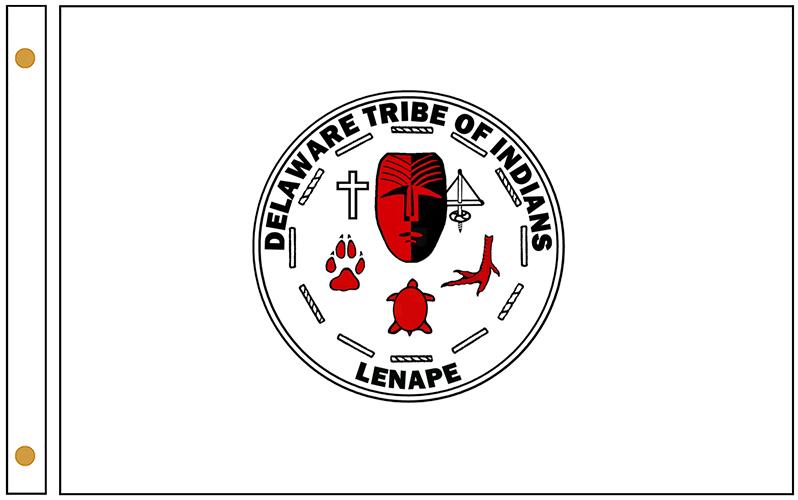 Lenni Lenape Tribe Flags