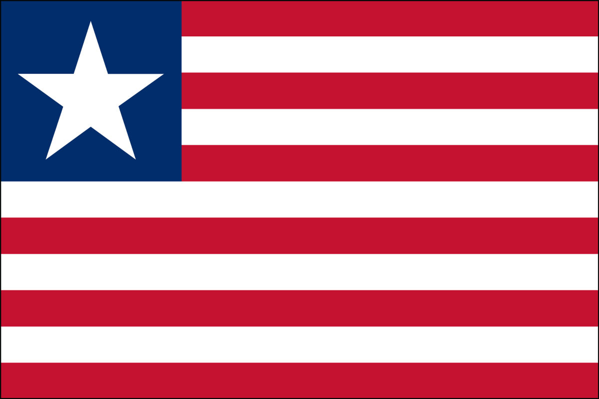 Liberia Flags