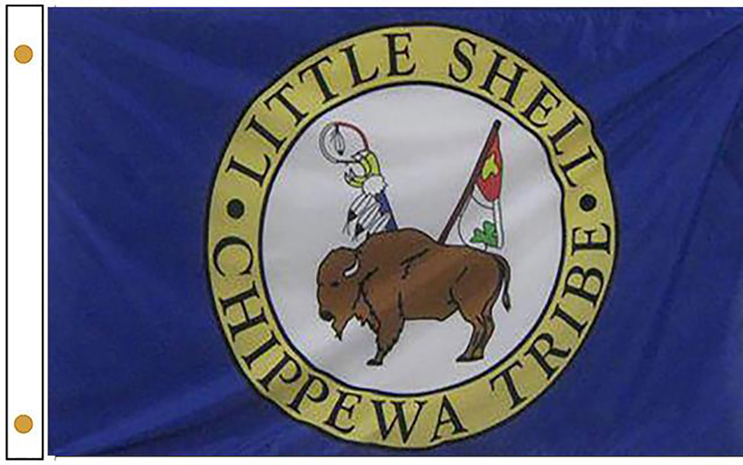 Little Shell Tribe Flags