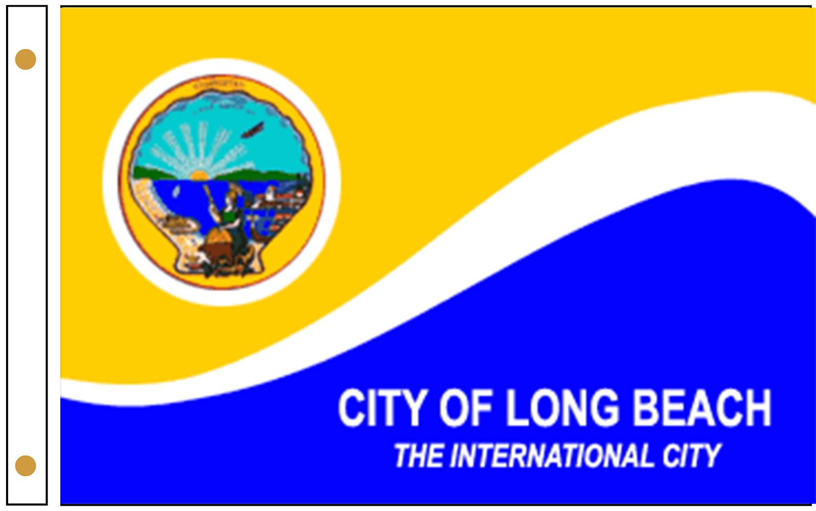 Long Beach CA Flags