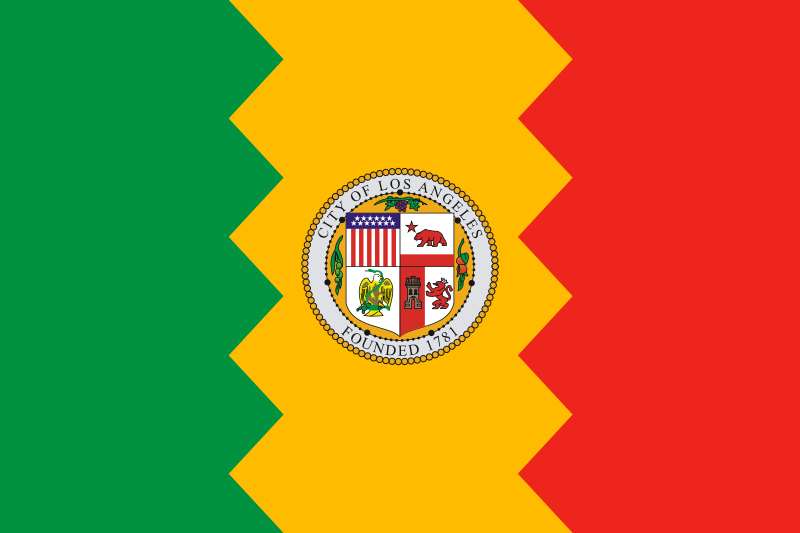 Los Angeles City Flags