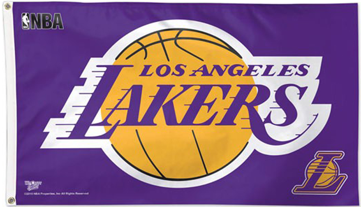 Los Angeles Lakers Flags