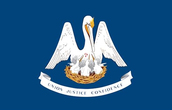 Louisiana State Flags