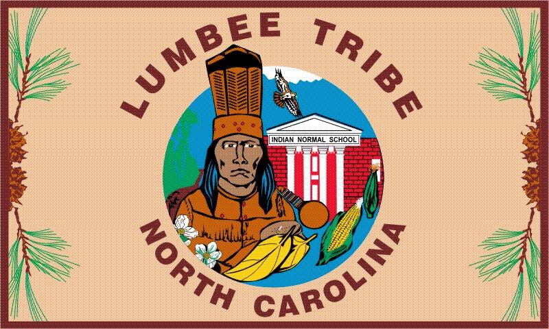 Lumbee Tribe Flags